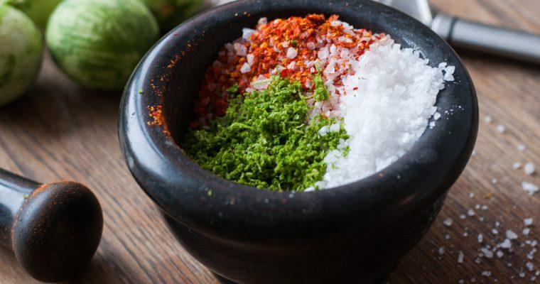 Chilli sůl s limetou